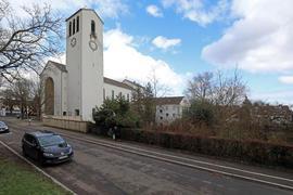 © Jodo-Foto /  Joerg  Donecker//  17.02.2021 Geplantes Stadtkloster / Dammerstock,  Kirche St. Franziskus.,         -Copyright - Jodo-Foto /  Joerg  Donecker Sonnenbergstr.4 D-76228 KARLSRUHE TEL:  0049 (0) 721-9473285FAX:  0049 (0) 721 4903368 Mobil: 0049 (0) 172 7238737E-Mail:  joerg.donecker@t-online.deSparkasse Karlsruhe  IBAN: DE12 6605 0101 0010 0395 50, BIC: KARSDE66XXSteuernummer 34140/28360Veroeffentlichung nur gegen Honorar nach MFMzzgl. ges. Mwst.  , Belegexemplarund Namensnennung. Es gelten meine AGB.