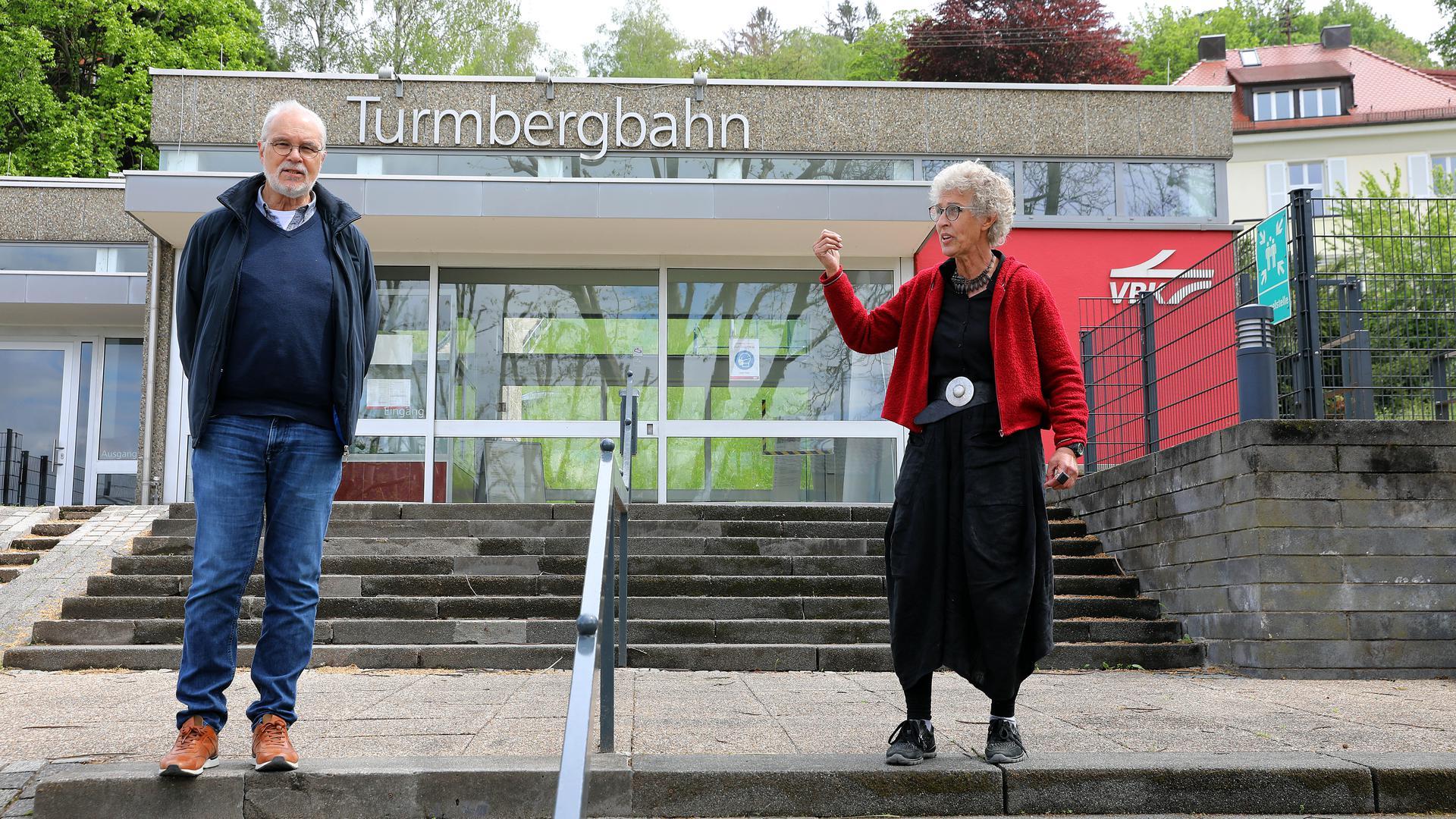 Gerhard Stolz und Ute Artmann