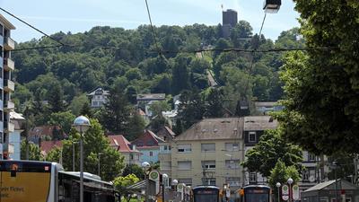 17.06.2021 Neubau und Verlängerung der Turmbergbahn bis zur Endhaltestelle Durlach