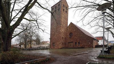 © Jodo-Foto /  Joerg  Donecker// 28.01.2021 Einkaufen und Nahversorgung in Weiherfeld, Foto: Friedenskirche,                                                                -Copyright - Jodo-Foto /  Joerg  Donecker Sonnenbergstr.4  D-76228 KARLSRUHE TEL:  0049 (0) 721-9473285 FAX:  0049 (0) 721 4903368  Mobil: 0049 (0) 172 7238737 E-Mail:  joerg.donecker@t-online.de Sparkasse Karlsruhe  IBAN: DE12 6605 0101 0010 0395 50, BIC: KARSDE66XX Steuernummer 34140/28360 Veroeffentlichung nur gegen Honorar nach MFM zzgl. ges. Mwst.  , Belegexemplar und Namensnennung. Es gelten meine AGB.