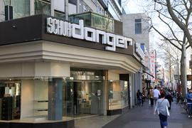 Schuhhaus Danger in der Kaiserstraße