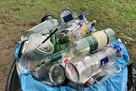 Müll im Fasanengarten