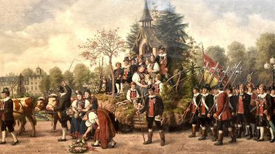 22.07.2021 Gemälde im Badischen Landesmuseum