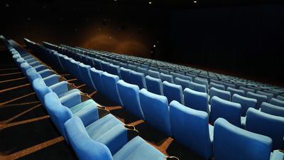Kinosaal im Filmpalast am ZKM