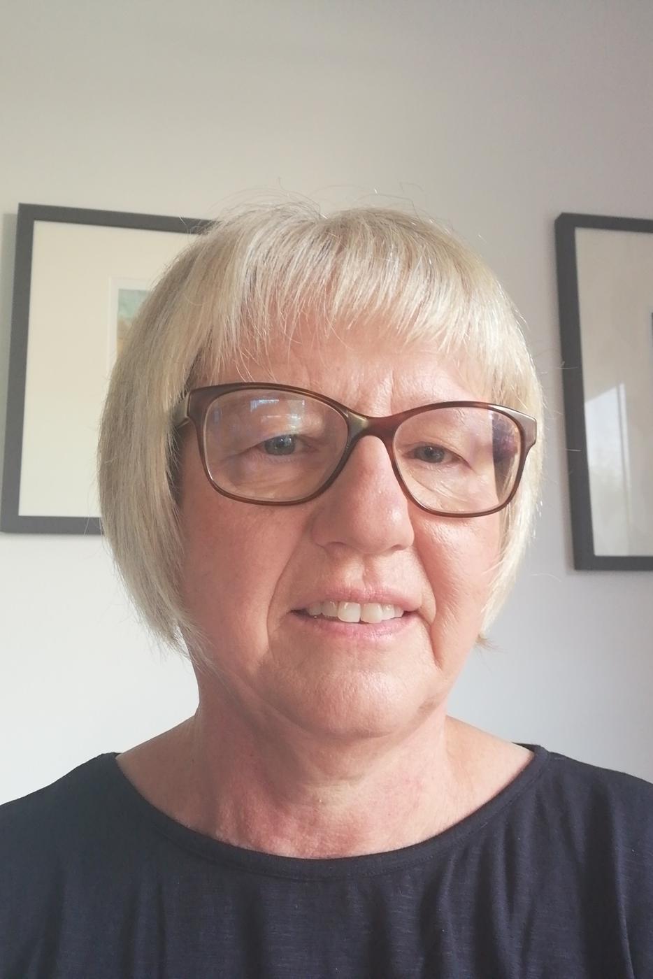 Glückliche Gewinnerin: Margitta Häfele freut sich über den Hauptpreis.