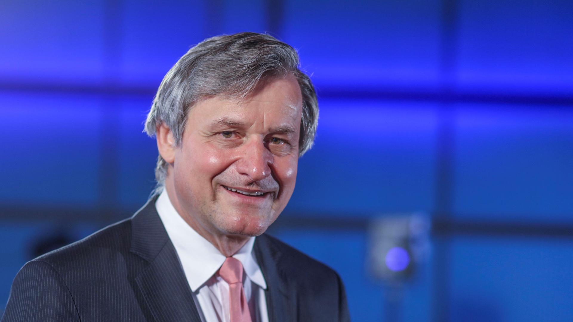 FDP-Spitzenkandidat Hans-Ulrich Rülke (FDP) beim BNN-Wahlforum im ZKM in Karlsruhe.