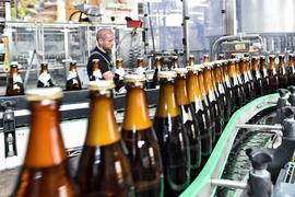 Eine der Hauptzutaten des Biers, das in der Kalsruher Brauerei Hatz-Moninger gebraut wird, ist noch nicht regional.