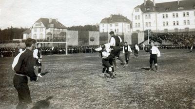 Länderspiel 1909 Karlsruhe