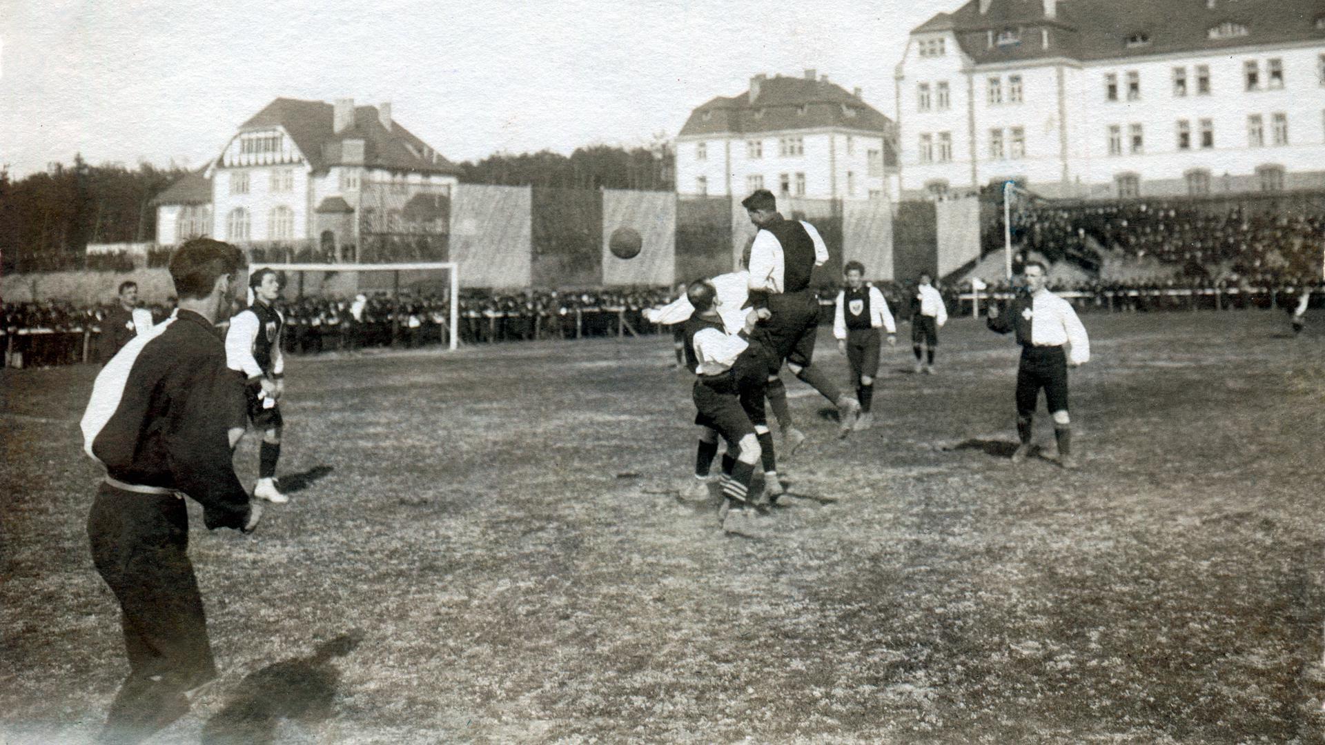 Fußballländerspiel Deutschland Schweiz 1909
