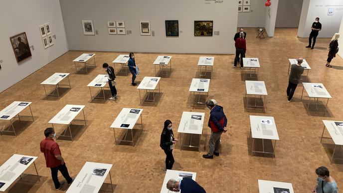 In der städtischen Galerie werden Werke und Schicksal von jüdischen Künstlern aus der Region dargestellt.