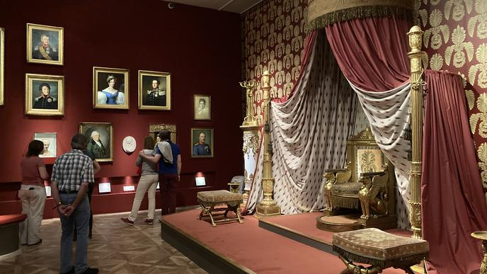 Eins der Highlights bei der 22. Kamuna ist der neue Thronsaal im Badischen Landesmuseum.