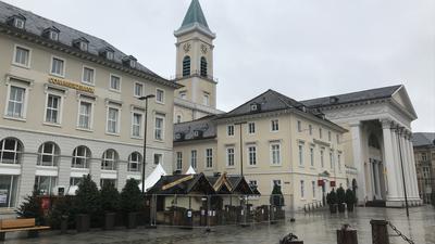 Karlsruhe Marktplatz Bude