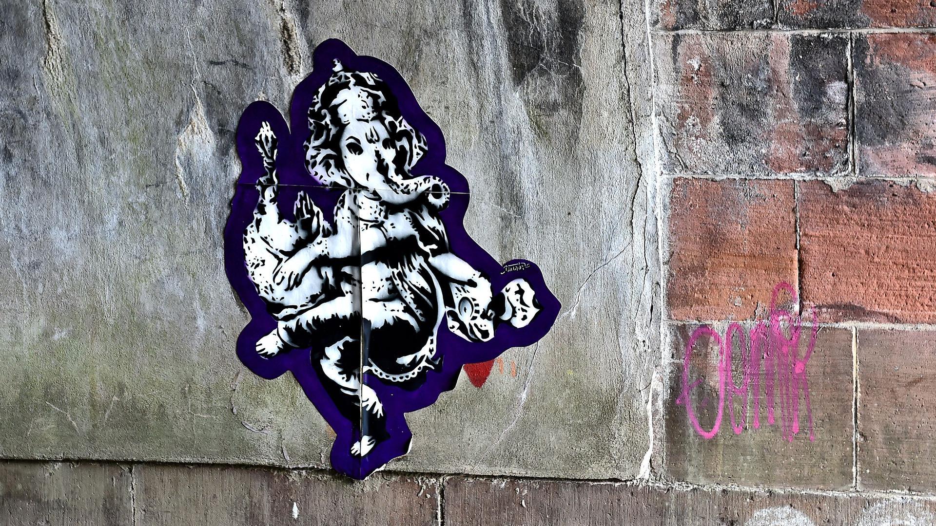 Ganesha, der Elefantengott an der Alb