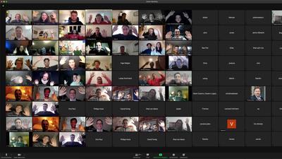 Screenshot einer Zoom-Konferenz