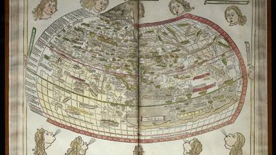 Ansicht von Europa nach den Angaben des Ptolemäus in: Cosmographia, Ulm 1482