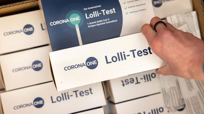 Verpackung eines Lolli-Pool-Tests