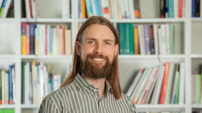 Simon Mader vom Karlsruher Start-up M-Five berät Kommunen in Sachen nachhaltige Mobilität.