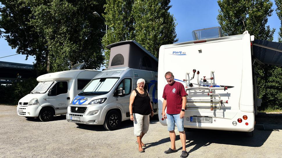 Wochenend-Camper: Ute und Michael Ruoß haben von Herrenberg aus nur eine kleine Tour geplant. Sie haben aber auch schon die Sahara durchquert.