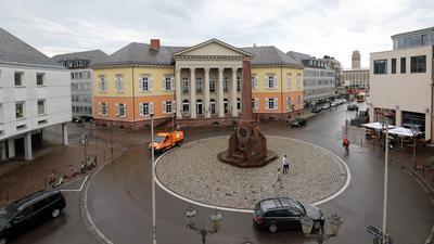 Markgräfliches Palais am Rondellplatz in Karlsruhe