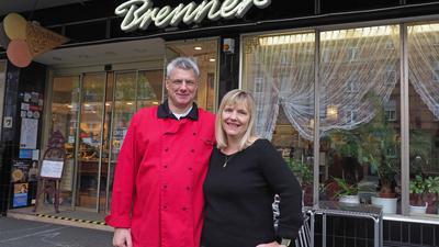 Ende einer Tradition: Michael und Manuela Brenner schließen ihre Konditorei-Café in der Südweststadt am Jahresende.