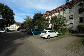 Alte Kasernengebäude im Kanalweg