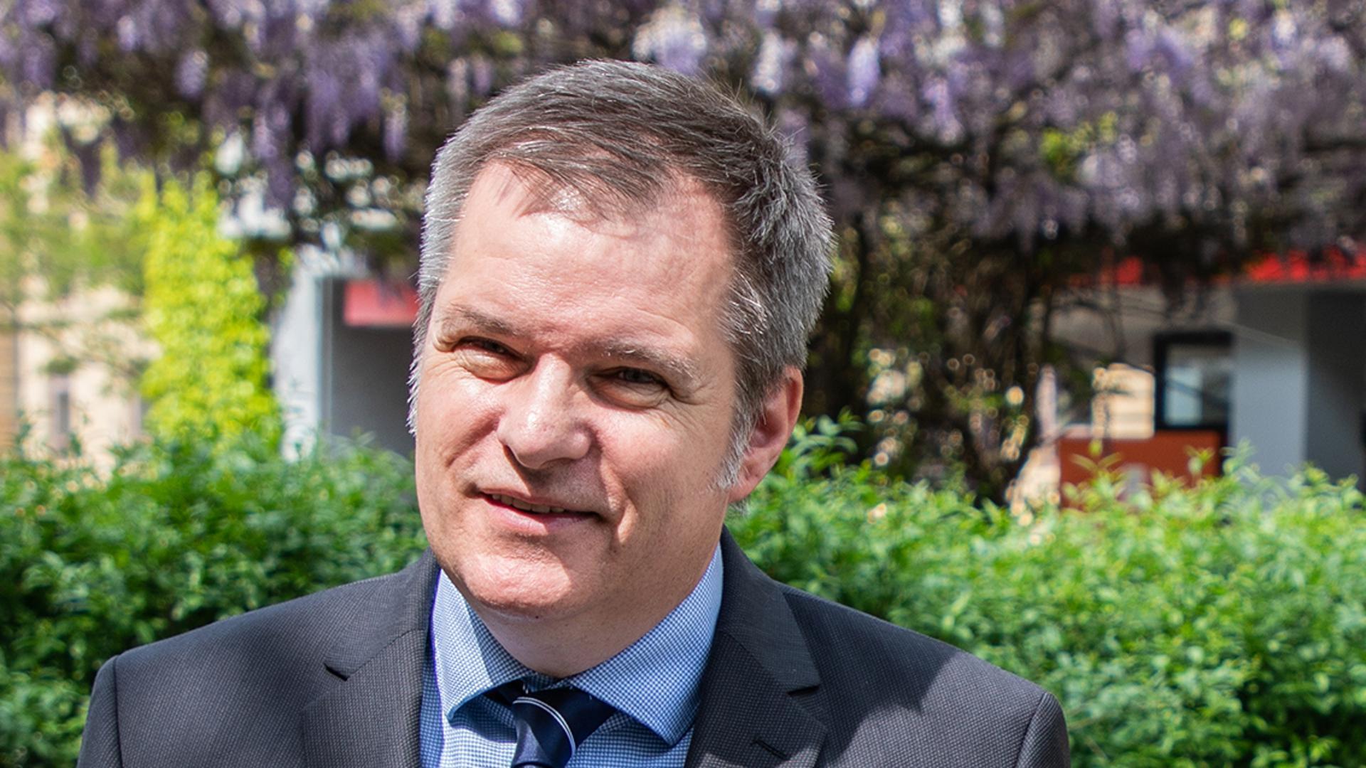 Christian Gleser, Prorektor für Studium und Lehre an der Pädagogischen Hochschule Karlsruhe, ist im Großen und Ganzen zufrieden mit dem Studium unter Pandemie-Bedingungen.