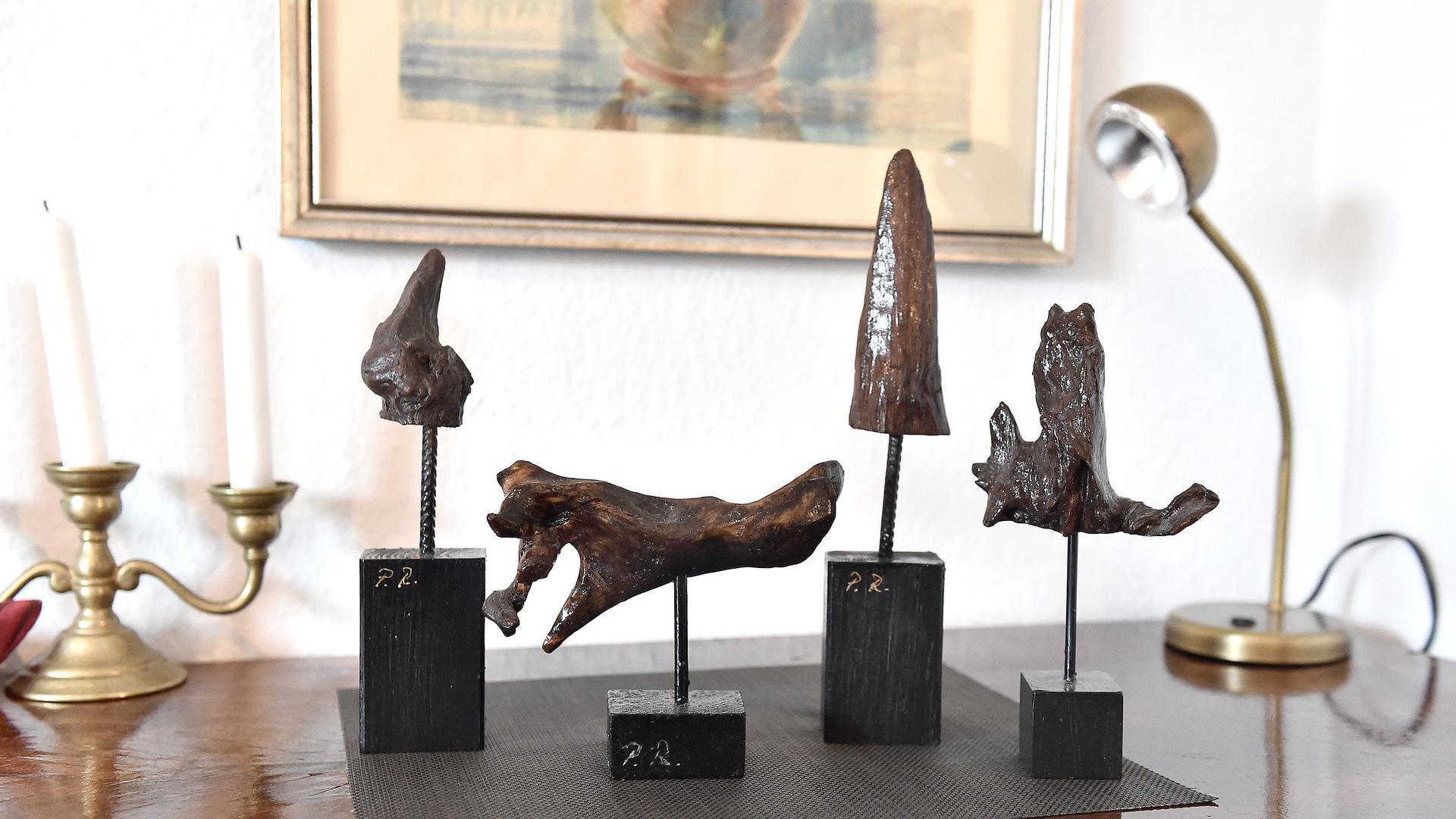 Paul Rapp macht Kunst aus Holz mit der Kettensäge