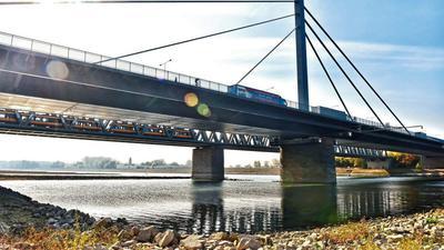 Wichtiges Bindeglied für Radfahrer: Auf ein leistungsfähiges Radwegesystem setzt der Regionalverband Mittlerer Oberrhein auch entlang der Rheinbrücken.