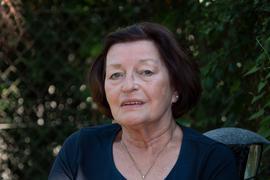 Gertrud Holstein, die 26 Jahre Pächterin des Milchhäusles war.