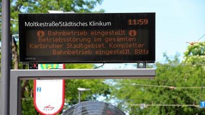 Störung Bereich Moltkestraße