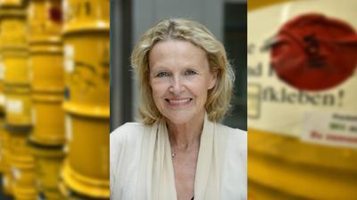 Die gescheiterte und nun die erneute Suche nach einem Atommüll-Endlager hat die Grünen-Bundestagsabgeordnete Sylvia Kotting-Uhl eng begleitet.