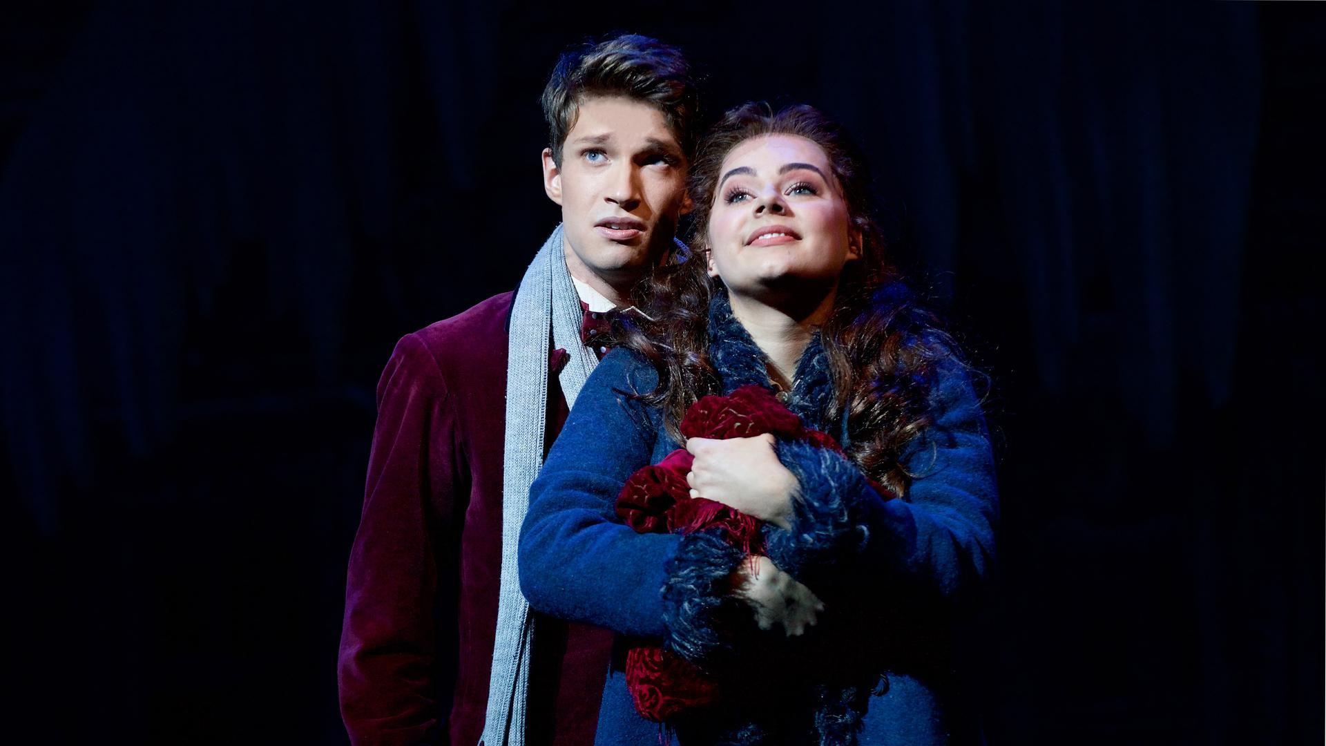 """Raphael Groß (Alfred) und Diana Schnierer (Sarah) standen auch schon in Berlin und Oberhausen für """"Tanz der Vampire"""" auf der Bühne."""
