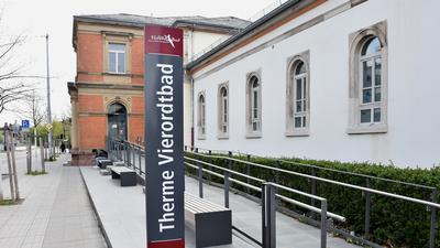 Das Vierordtbad ist die älteste Badeanstalt in Karlsruhe.