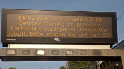 Bahnverkehr in Karlsruhe wegen Hitzeschäden eingestellt – viele Strecken am Mittwoch gesperrt
