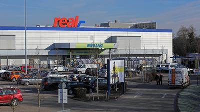 Der Real-Markt in Karlsruhe-Bulach