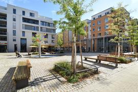 Begehrter Wohnraum: Trotz Corona-Pandemie steigt die Nachfrage nach Wohneigentum in Karlsruhe ebenso wie das Preisniveau. Der Immobilienmarktbericht 2020 weist die detaillierten Zahlen aus.