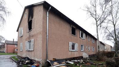 28.12.2020 Brandhaus in der Karlsruher Straße