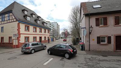 12.03.2021 Durlach: Restaurant Zum Ochsen und Torwärterhaus