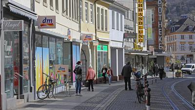 29.03.2021 Einkaufen in Durlach