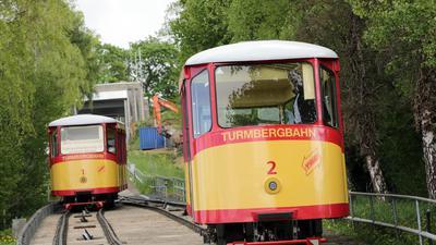 16.04.2014 Turmbergbahn mit Bergstation