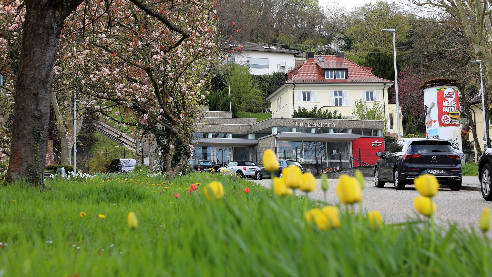15.04.2021 Verlängerung/Neubau der Turmbergbahn Durlach