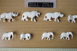 Elfenbein-Elefanten