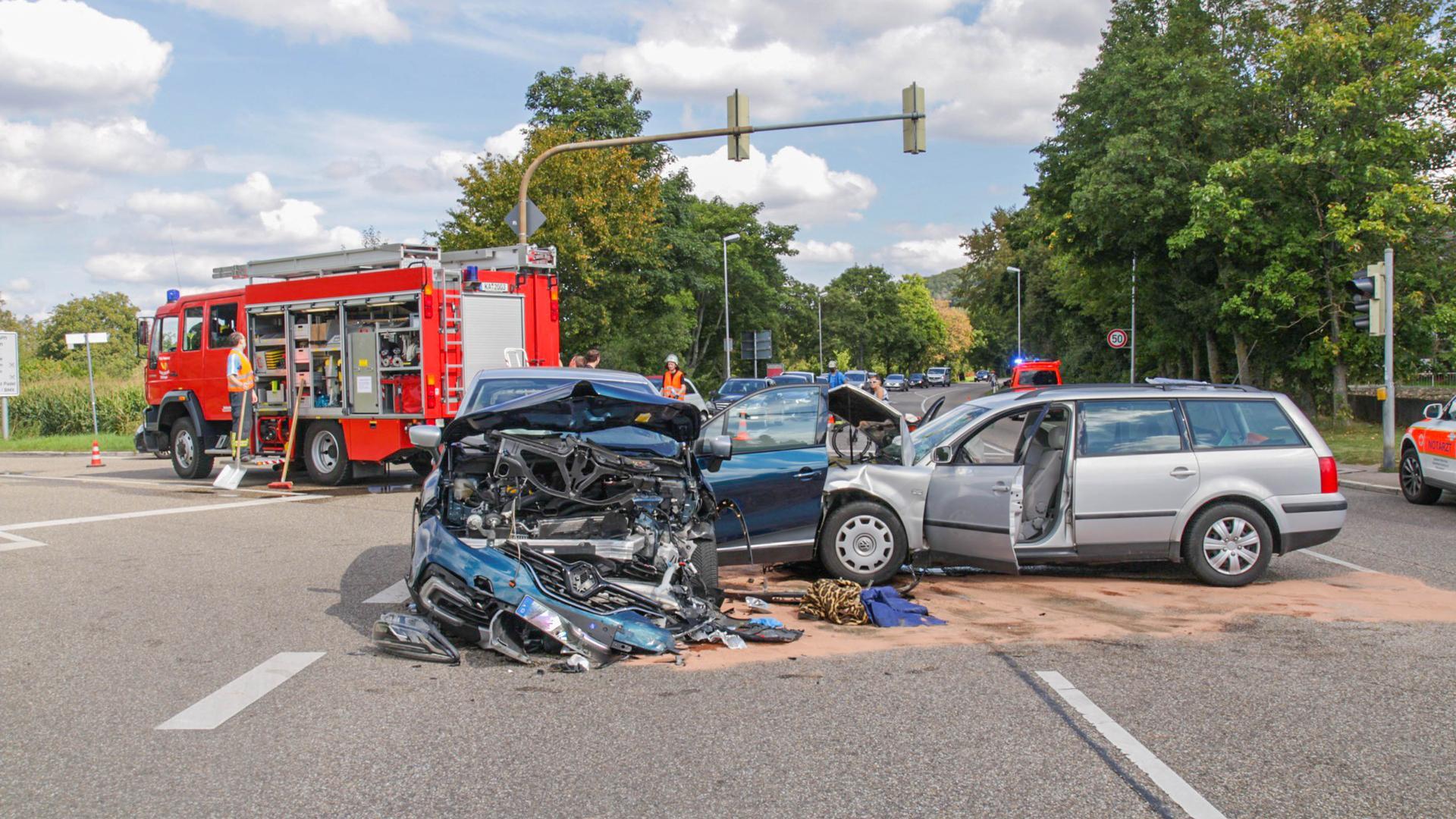 Grötzingen Unfall