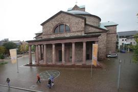 Kirche St. Stephan in Karlsruhe, März 2018