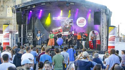 Am zweiten Oktoberwochenende können sich Besucher über Live-Musik beim Karlsruher Stadtfest freuen.
