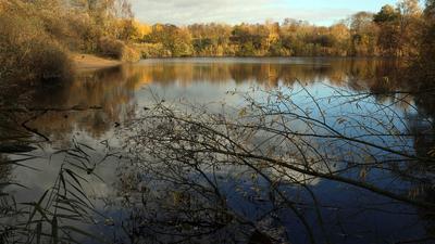 Der Heidesee in Neureut