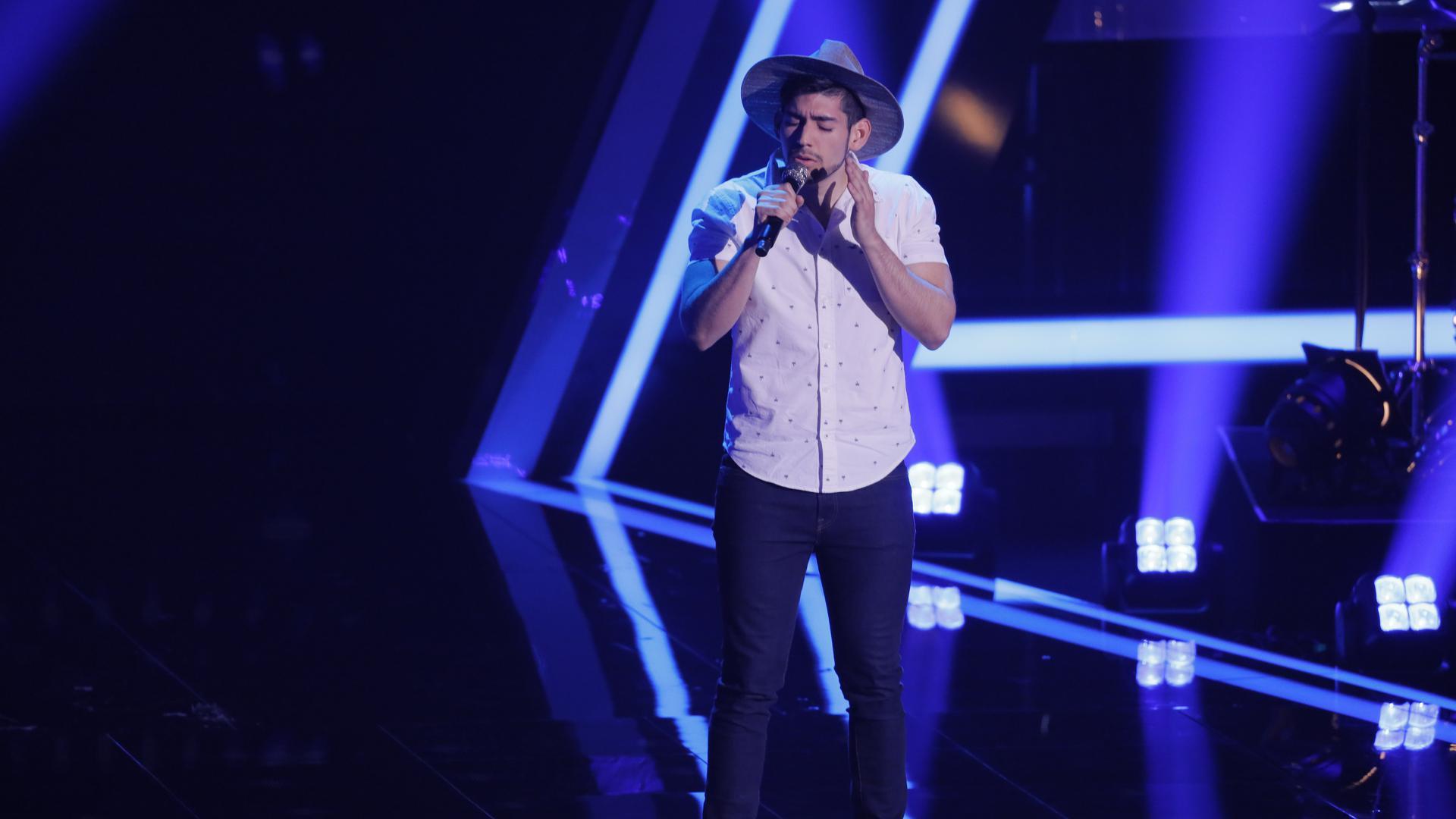 Sänger Musik Bühne