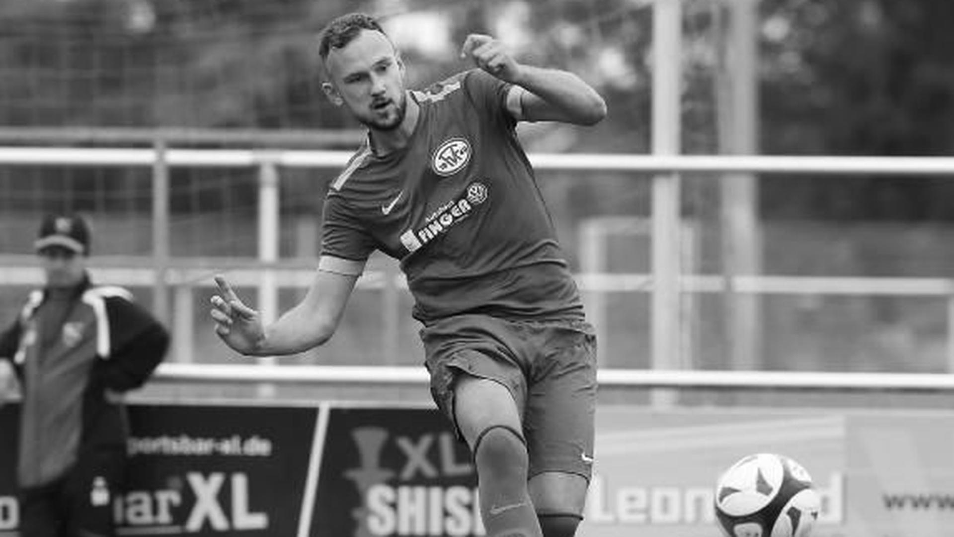Große Trauer in der Region Karlsruhe um den Amateurfußballer Tino Hodzic, hier 2018 noch im Trikot von Fortuna Kirchfeld.