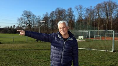 Domizil: Die SG Rüppurr, im Bild Vorsitzender Hartmut Jäger, konzentriert ihre Aktivitäten am Brunnenstückweg.