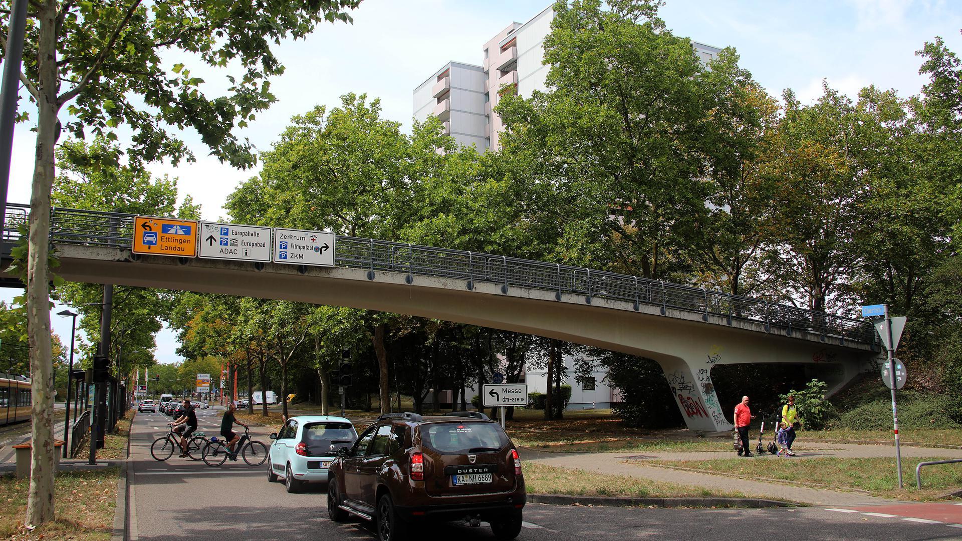 3.08.2020 Brücke über die Ebertstraße